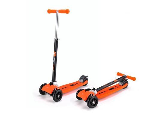 Купить Самокат Y-SCOO Maxi city Simple Gagarin трансформер оранжевый, Трехколесные самокаты для детей