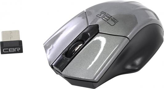 все цены на Мышь беспроводная CBR CM 677 серый USB