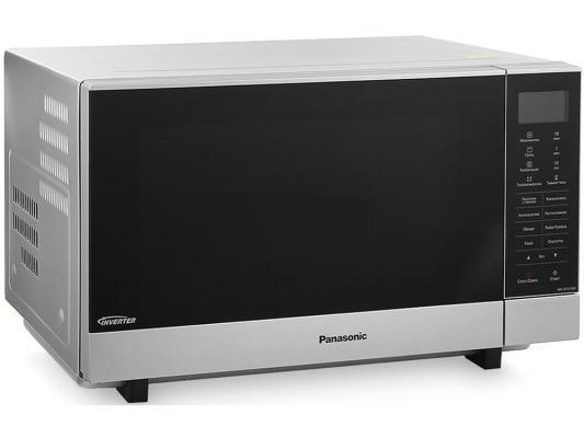 лучшая цена Микроволновая печь Panasonic NN-GF574MZPE — серебристый