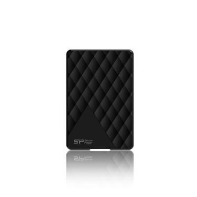 "Внешний жесткий диск 2.5"" USB3.0 1Tb Silicon Power Diamond D06 SP010TBPHDD06S3K черный"