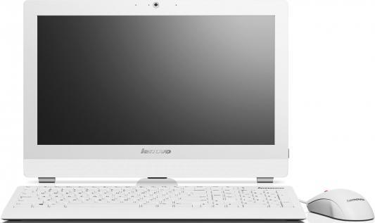 "Моноблок Lenovo S20-00 19.5"" 1600x900 J1800 2.41GHz 4Gb 500Gb DVD-RW Wi-Fi DOS клавиатура мышь белый F0AY0042RK"