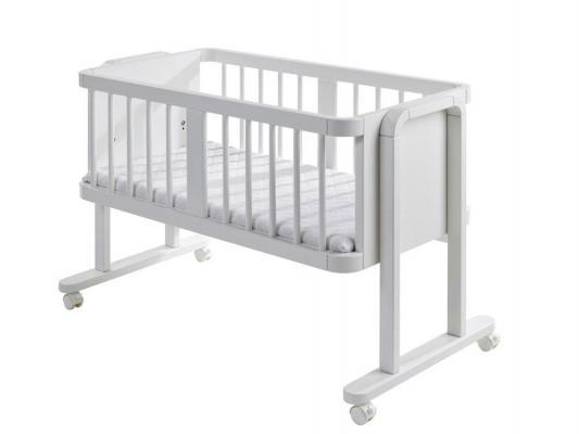 Колыбель класическая Geuther Aladin (белая) geuther детская кроватка geuther aladin