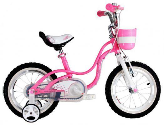 """Велосипед Royal baby Little Swan Steel 14"""" розовый RB14-18"""
