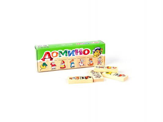 Купить Настольная игра Томик развивающие Репка (28 костяшек) 5555-6, 7 х 3 х 1 см.(костяшка) 22 х 8 х 4 см.(упаковка), Лото, домино, шашки и шахматы