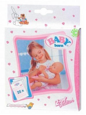 Набор для кормления пупса Zapf Creation Детское питание Baby born 77917 zapf creation baby born 779 170 бэби борн детское питание 12 пакетиков