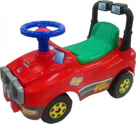 Каталка-машинка Полесье Джип с гудком красный 3910