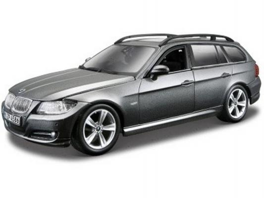 Автомобиль Bburago BMW 3 Series Touring 1:24 серый