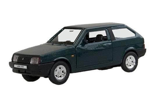 Автомобиль Welly Lada 2108 1:34-39 зеленый 42377