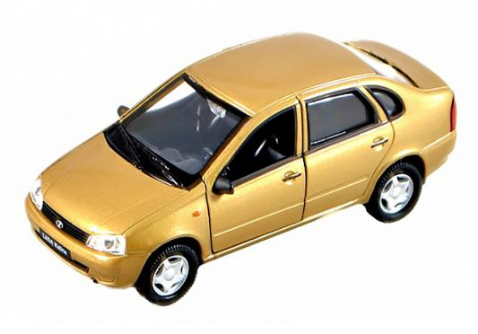 Автомобиль Welly Lada Kalina 1:34-39 красный автомобиль welly lada kalina такси 1 34 39 42383