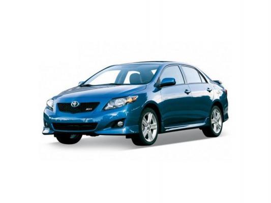 Автомобиль Welly Toyota Corolla 1:34-39 синий 43608 W