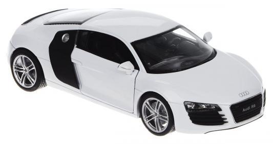 Автомобиль Welly Audi R8 1:24 белый