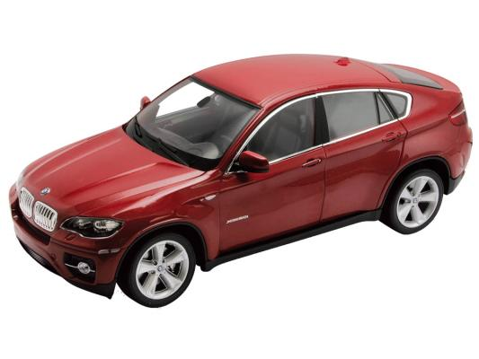Автомобиль Welly BMW X6 1:24 красный автомобиль welly bmw 654ci 1 18 красный
