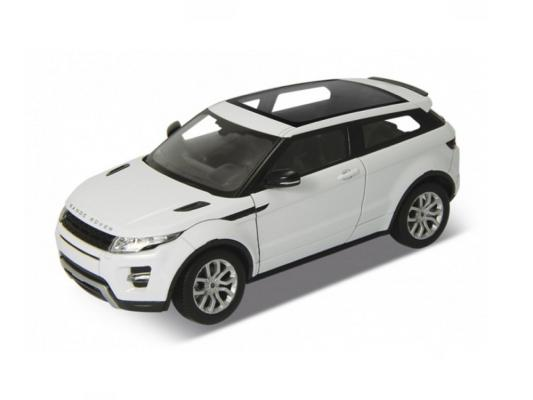 Автомобиль Welly Range Rover Evoque 1:24 белый