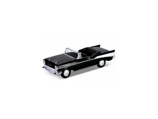 Автомобиль Welly Chevrolet Bel Air 1957 1:34-39 черный welly chevrolet bel air 1957 welly велли
