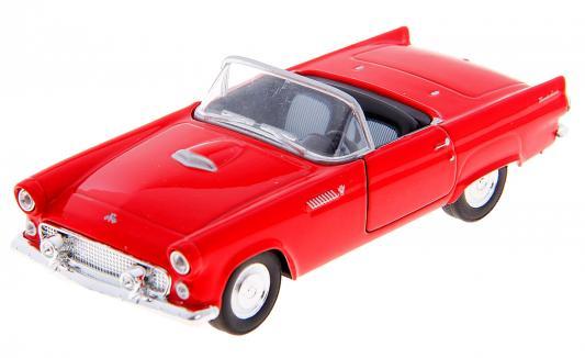 Автомобиль Welly Ford Thunderbird 1955 1:34-39 красный автомобиль welly 2005 ford lincoln navigator 1 35