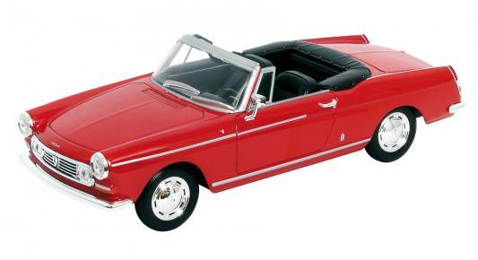 Автомобиль Welly Peugeot 404 1:34-39 красный