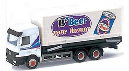 Грузовик WELLY B'Beer металл от 3 лет белый