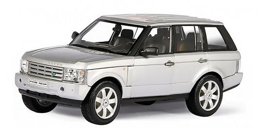 Автомобиль Welly LAND ROVER RANGE ROVER 1:33 синий
