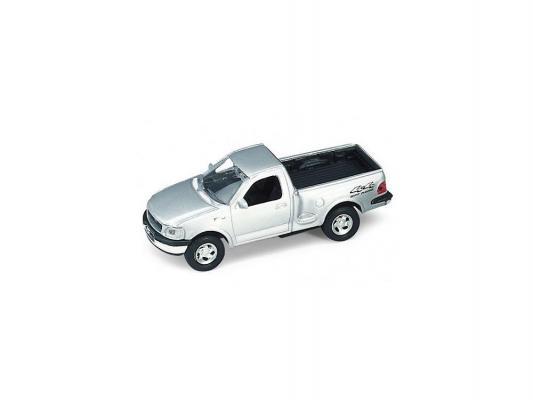 Автомобиль Welly 1997 FORD F150 PICK UP 1:34-39 серебристый