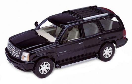 Автомобиль Welly 2002 Cadillac Escalade 1:34-39 черный