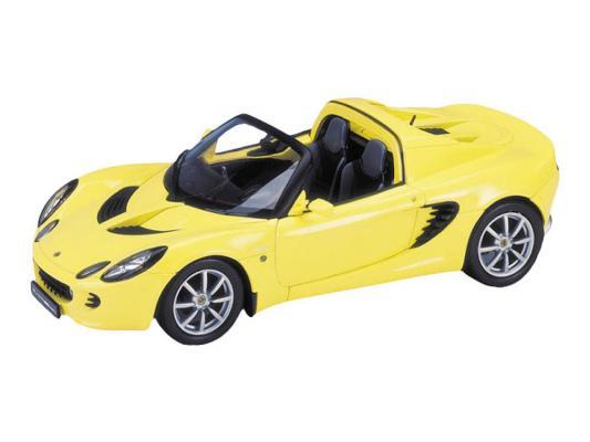Автомобиль Welly 2003 Lotus Elise IIIS 1:34-39 желтый