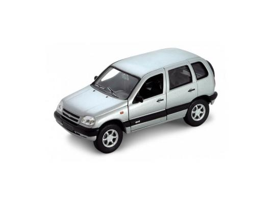 Автомобиль Welly Chevrolet Niva 1:34-39 серый chevrolet niva 1 8 mt
