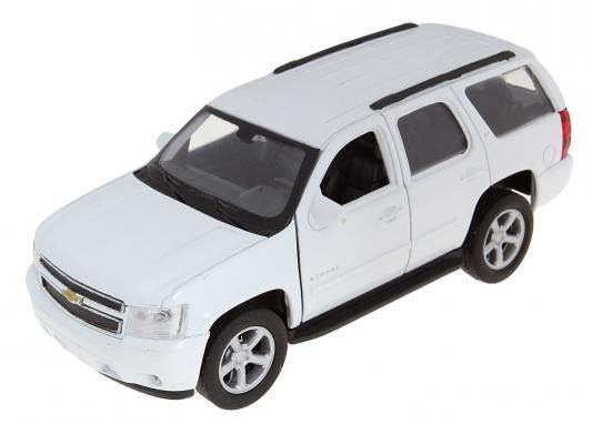 Автомобиль Welly Chevrolet Tahoe 1:34-39 цвет в ассортименте игрушка welly модель машины 134 39 chevrolet tahoe big wheel 47002