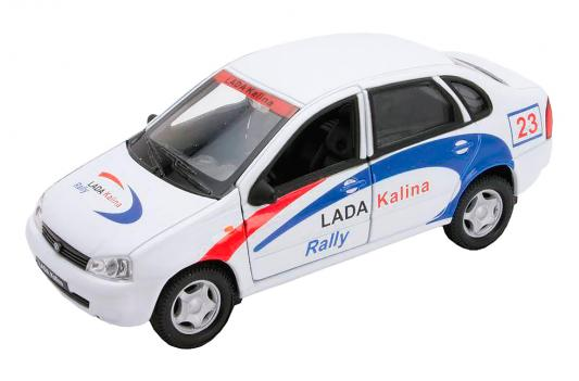 Автомобиль Welly LADA Kalina Rally 1:34-39 белый 42383RY автомобиль welly lada kalina rally 1 34 39 белый 42383ry