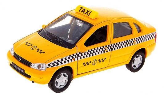 Автомобиль Welly Lada Kalina Такси 1:34-39 желтый 42383