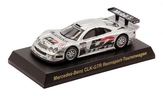 Автомобиль Welly MB CLK-GTR 1:34-39 серый