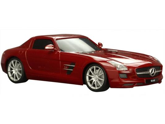 Автомобиль Welly Mercedes-Benz SLS AMG 1:34-39 бордовый 43627W