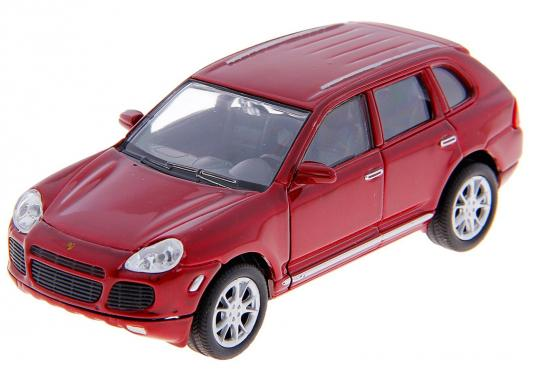 Автомобиль Welly PORSCHE CAYENNE TURBO 1:34-39 цвет в ассортименте машина porsche cayenne turbo 1 14 со светом rastar в ассортименте