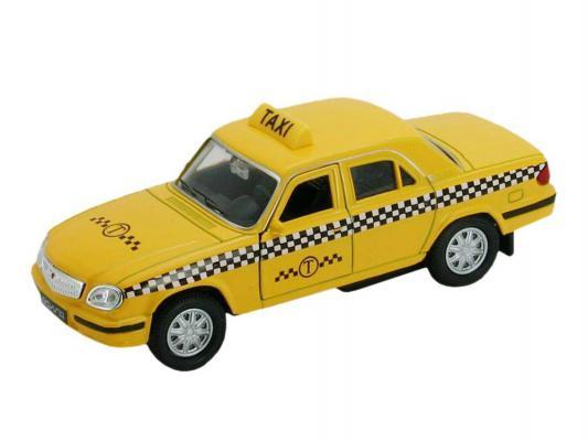 Автомобиль Welly Волга Такси 1:34-39 желтый