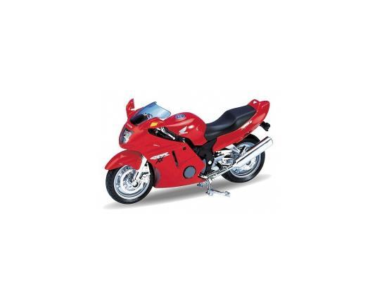 Мотоцикл Welly CBR1100XX 1:18 красный 12143PW