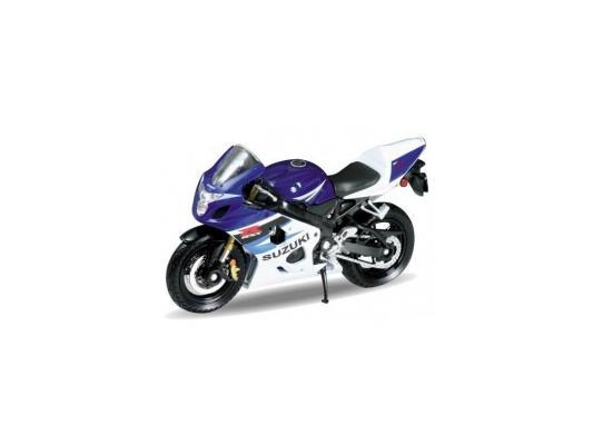 Мотоцикл Welly Suzuki GSX-R750 1:18 синий