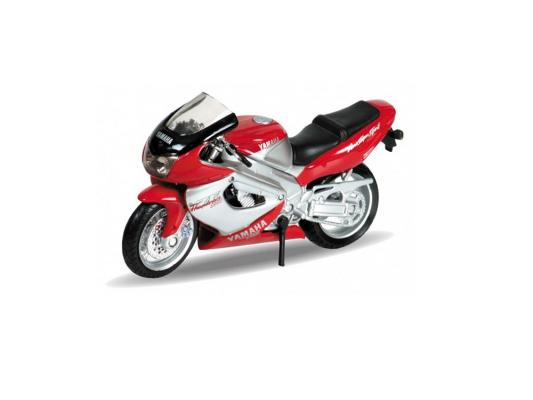 Мотоцикл Welly Yamaha 2001 YZF1000R Thunderace 1:18 красный 12154P
