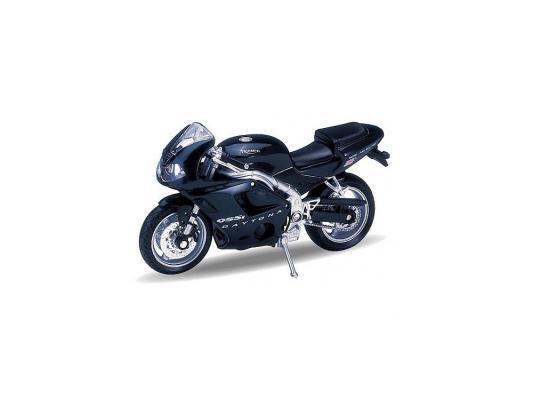 Мотоцикл Welly Triumph Daitona 955I 1:18 черный