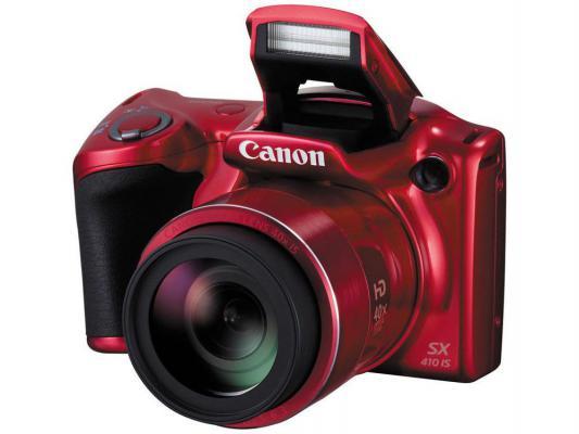 Фотоаппарат Canon PowerShot SX410 IS красный