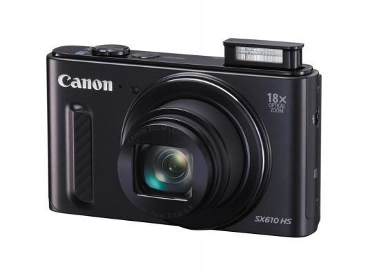 Фотоаппарат Canon PowerShot SX610 HS черный