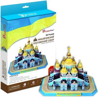 Пазл 3D CubicFun Михайловский златоверхий собор (Украина) 131 элемент MC130H