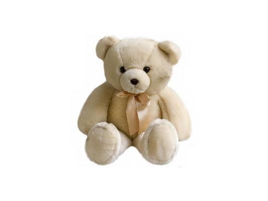 Мягкая игрушка медведь Aurora 11-355 плюш бежевый 56 см