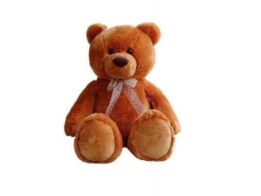 Мягкая игрушка медведь Aurora 615-79 плюш коричневый 100 см