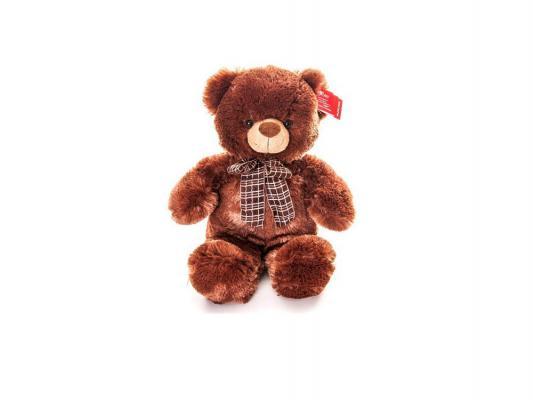 Мягкая игрушка медведь Aurora 21-237 плюш коричневый 45 см