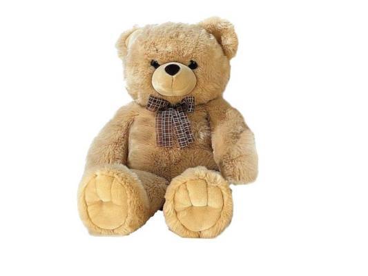 Мягкая игрушка медведь Aurora 110-09 плюш бежевый 120 см