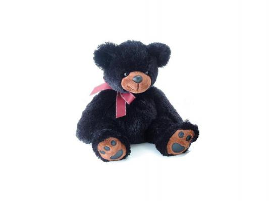 Мягкая игрушка медведь Aurora 31-093 текстиль черный 50 см