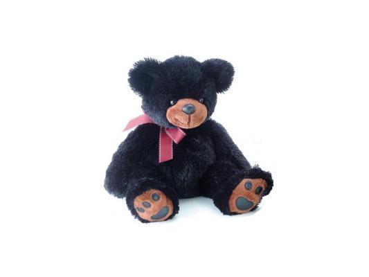 Мягкая игрушка медведь Aurora 41-103 текстиль черный 70 см