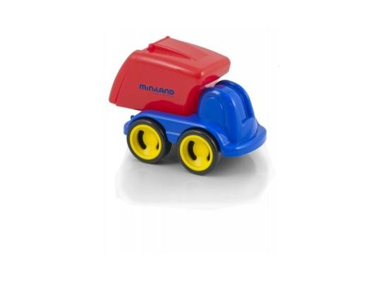 Мусоровоз Miniland Мини-машина синий 1 шт 19 см 27478