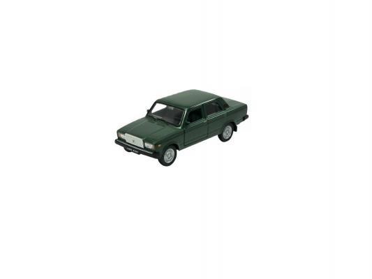 Автомобиль Welly Lada 2107 1:34-39 зеленый castor 2107 1