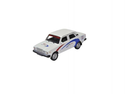 Автомобиль Welly Lada 2107 Rally 1:34-39 белый bq bq aquaris m5 black white
