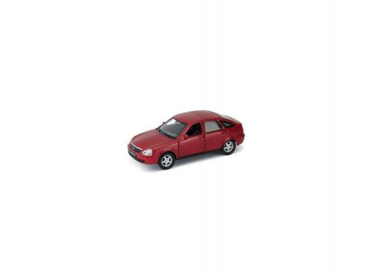 Автомобиль — Lada Priora 1:34-39 красный 43645W
